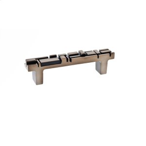 Antique Brass Offset Pull 3 3/4 Inch (c-c) Product Image