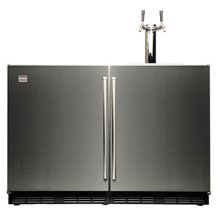 "48"" Outdoor Keg Tapper with Refrigerator"