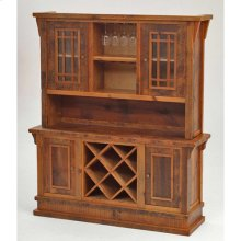 Stony Brooke - Entry Way Hutch With Wine Rack and Wine Glass Holder