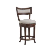 Marrone Aperitif Swivel Counter Stool