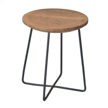 Rainbox Stool Black Legs-m2