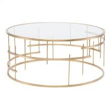 Tiffany Coffee Table  Gold