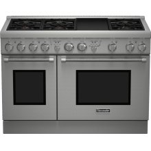 48-Inch Pro Harmony® Standard Depth Gas Range- OUT OF CARTON