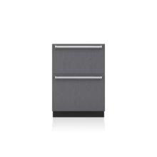 "24"" Designer Freezer Drawers with Ice Maker - Panel Ready"