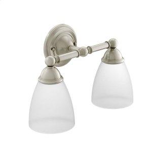 Brantford brushed nickel bath light Product Image