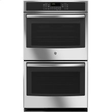 """GE® 30"""" Built-In Double Wall Oven with Convection  (This is a Stock Photo, actual unit (s) appearance may contain cosmetic blemishes. Please call store if you would like actual pictures). This unit carries A ONE YEAR MANUFACTURER WARRANTY. REBATE NOT VALID with this item. ISI 32467G"""