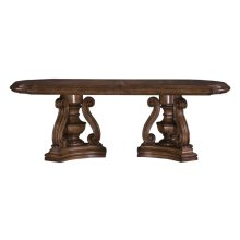 San Mateo Double Ped Table Base