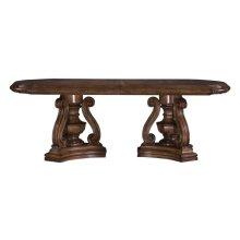 San Mateo Double Ped Table Base