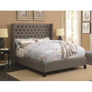 Benicia Queen Bed Grey