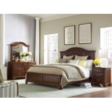 Hadleigh Panel Queen Bed - Complete
