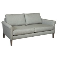 "Metro 65"" Rolled Arm Loveseat"