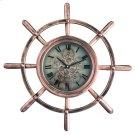 Ship's Wheel Wall Clock Product Image