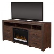 Thom Media Console Electric Fireplace