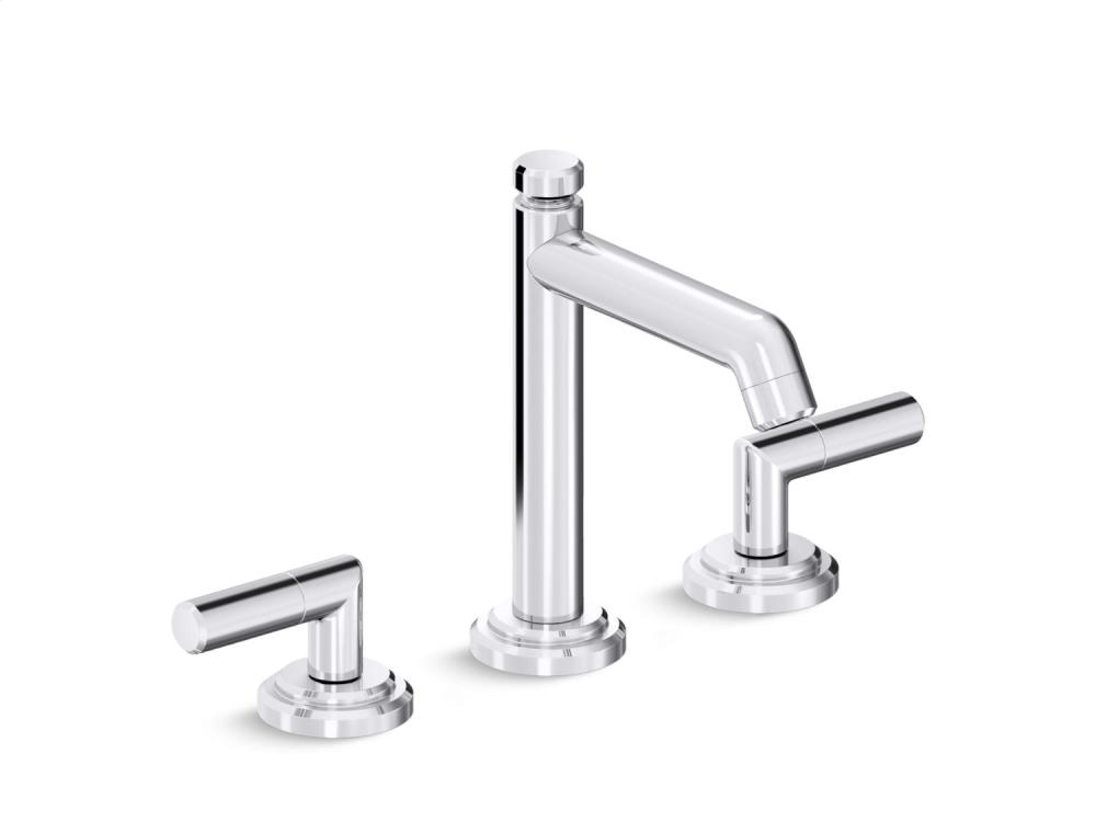 Sink Faucet, Tall Spout, Lever Handles - Chrome