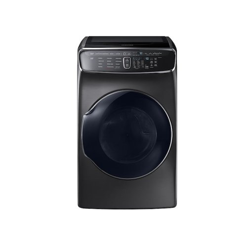 7.5 cu. ft. FlexDry Gas Dryer in Black Stainless Steel
