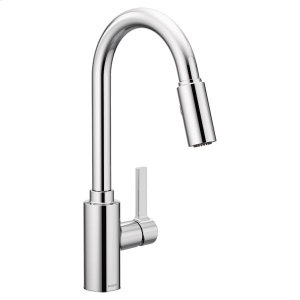 Genta chrome one-handle kitchen faucet Product Image