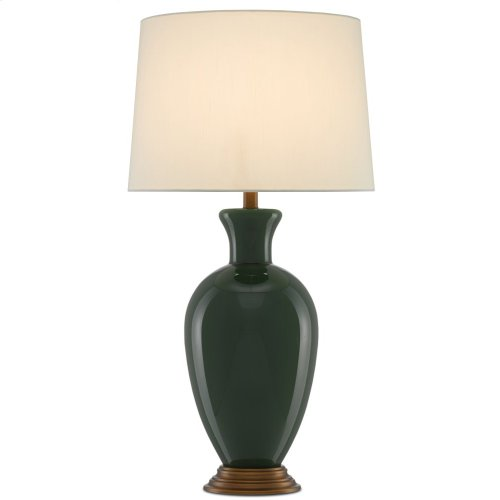 Cybil Green Table Lamp