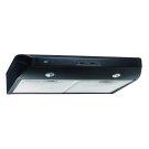 """350 CFM 36"""" Under Cabinet Range Hood Black Product Image"""