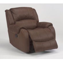 Pure Comfort Fabric Gliding Recliner