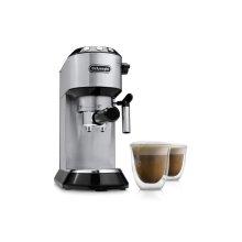 Dedica Espresso Machine Gift Set - Includes 2 Cappuccino Glasses - EC680BMC