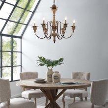 Bountiful Vintage French Pendant Ceiling Light Candelabra Chandelier