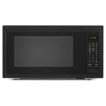 2.2 cu. ft. Countertop Microwave with Greater Capacity - Black