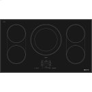 """Black Floating Glass 36"""" Induction Cooktop, Black Product Image"""