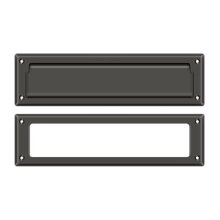 "Mail Slot 13 1/8"" with Interior Frame - Oil-rubbed Bronze"