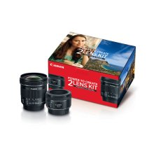 Canon Portrait & Travel 2 Lens Kit Lens Bundle