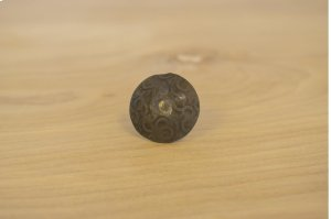 """1"""" Unfinished 10 Pack Dimpled Round Clavos Product Image"""