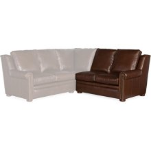 Bradington Young Reece RAF Stationary Loveseat 8-Way Tie 202-58