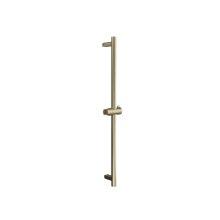 Modern Round Handshower Rail - Brushed Brass