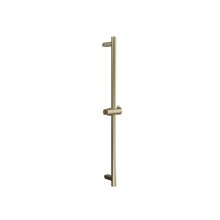 Modern Round Handshower Rail - Brushed Brass