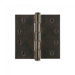 """Plain Bearing Extruded Hinge - 4"""" x 4"""" Silicon Bronze Brushed Product Image"""