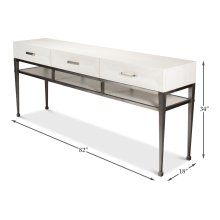 Soho Media Console, Working White