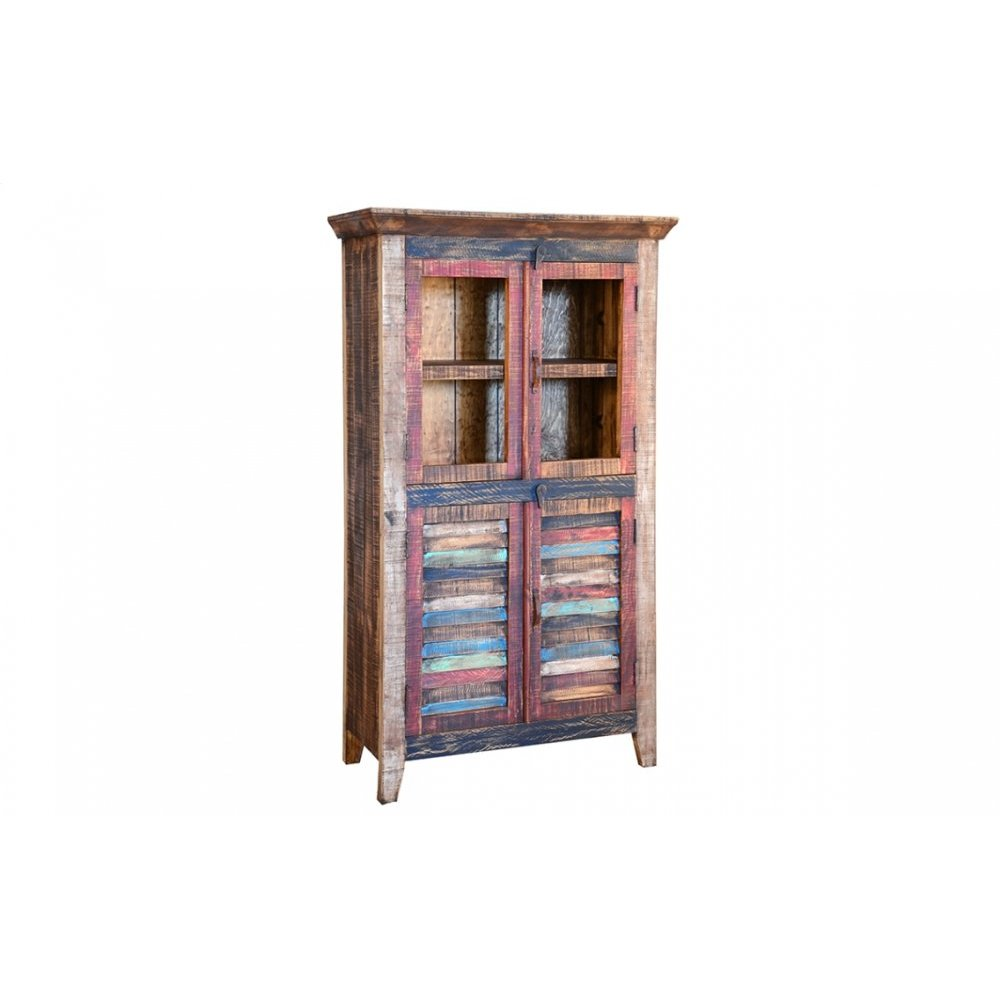 Cabana Glass Door Bookcase