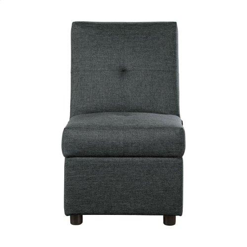Storage Ottoman/Chair, Gray