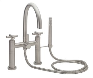 Contemporary Deck Mount Tub Filler Product Image