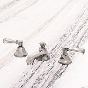 Metropole Faucet - Chrome / Glass Handle Product Image