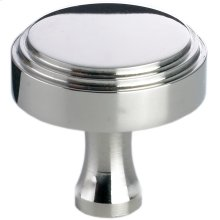 "1"" round stepped-edge knob"