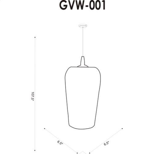 """Glenview GVW-001 11""""H x 6.5""""W x 6.5""""D"""
