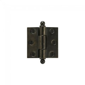 """Butt Hinge - 3"""" x 3"""" Silicon Bronze Brushed Product Image"""