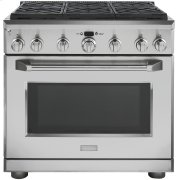 """Monogram 36"""" Dual-Fuel Professional Range with 6 Burners (Natural Gas) Product Image"""