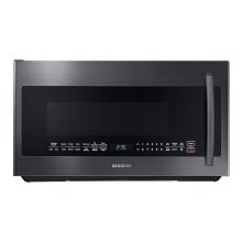 2.1 cu. ft. Over-the-Range Microwave with PowerGrill in Fingerprint Resistant Black Stainless Steel