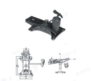 Syncro Mechanism Replacement Chair Part Component for Office Chairs and Stools Product Image