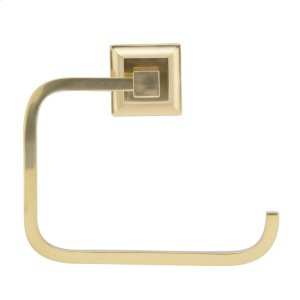Stanton Towel Ring - Antique Brass Product Image