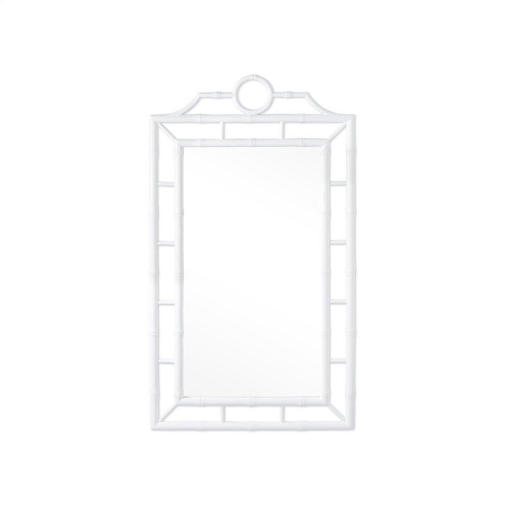 Chloe Mirror, White