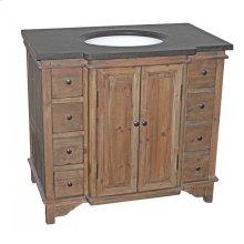 Bluestone Reclaimed 8-Drawer Vanity