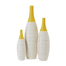 Andean Multi Glaze Vases - Set of 3