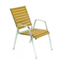 Chair With Aluminium Frame and Ash Wood 1.5 Mm